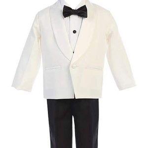 4 piece toddler tuxedo size 4T